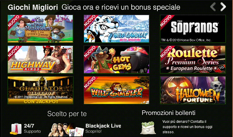casino online italiani  download